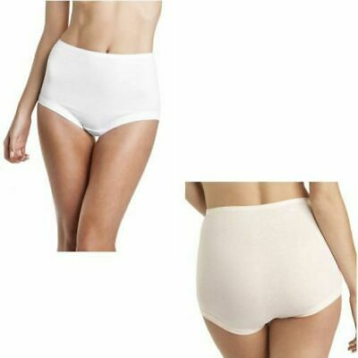 Bonds Womens Cottontails Full Brief Underwear Nude White Plus Size 12-24 W0M5B