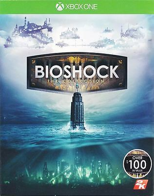 BioShock The Collection Xbox One Game 2016 New & Sealed