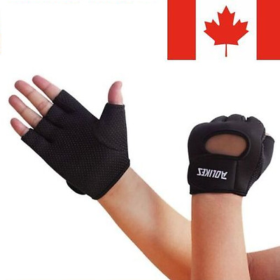 Men Women Weight Lifting Gloves Exercise Training Workout Fitness Gym Sports