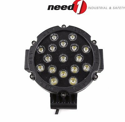 51W LED Driving Work Spot Light 4WD Black