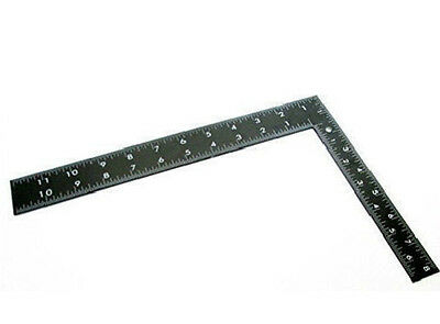 """New 8""""x12"""" Steel Roofing Square Framing Carpenter Measure Metric Imperial Large"""