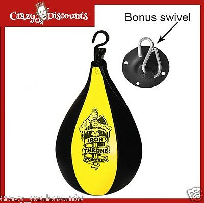 Speed Ball & Swivel Punch Bag Training Speedball Punching Mma Ufc Fitness Boxing