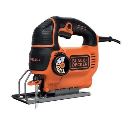 Black&Decker KS901SEK Seghetto alternativo Autoselect 620 Watt in valigetta