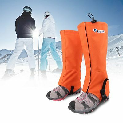 Waterproof Outdoor Climbing Hiking Skiing Shoes Leg Cover Boots Legging Gaiters