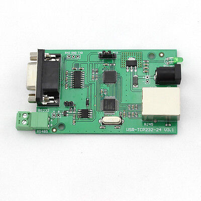 USR-TCP232-24 RS232 RS485 Serial to Ethernet LAN Module