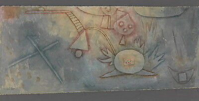 Paul Klee Thistle picture Giclee Canvas Print Paintings Poster Reproduction Copy
