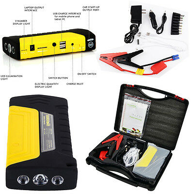 50800mAh Minimax Portable Car Jump Start Pack Booster Charger Battery USB New