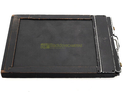 "Chassis 4x5 pollici. Film holder 4x5""."