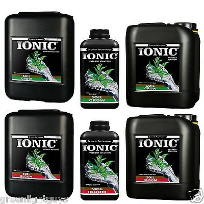 Ionic Soil Bloom & Grow 1 Litre,5 Litre,20 Litre Plus Choose Your Own Free Gift