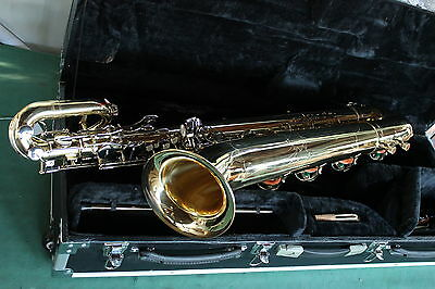 MUSICA-CITY-STORE - SAX BARITONO Mib & Fa# + LowLa ORO KEY NICKEL - NEW ORLEANS®
