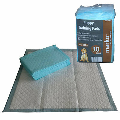 Extra Large Puppy Pads Training Pet Dog Cat Toilet Wee Mats 30 60 90 150 180 240