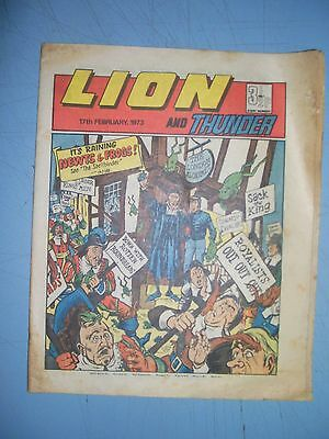Lion issue dated February 17 1973