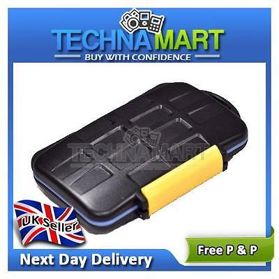 SD XD CF Hard Memory Card Storage Carrying Case Holder Compact Flash Wallet UK