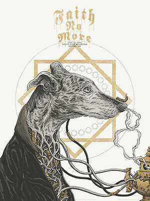 FAITH NO MORE poster Dallas 2015 by Neal Williams