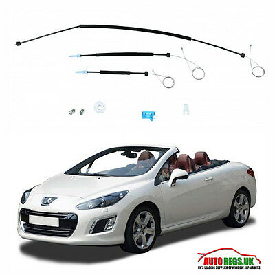 peugeot 307cc convertible cabrio facelift read description. Black Bedroom Furniture Sets. Home Design Ideas