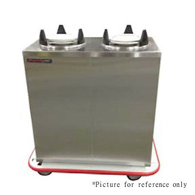 """Carter-Hoffmann EPD2S9 Plate Dish Dispenser with 100 9"""" Plate Capacity"""
