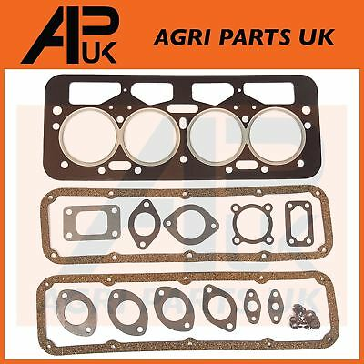 JCB,Leyland Marshall Nuffield Tractor Top End Head Gasket Set 3.8TD 4.98 Engine