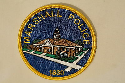 US IN Marshall Police 1830 Indiana Patch Obsolete