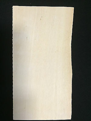 """Holly * 1/16 * veneer headstock head stock guitar luthier parts, 1 pc 4"""" x 8"""""""