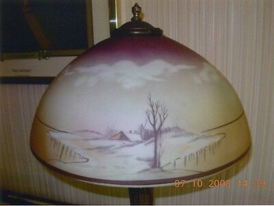 Pristine Early 1900s Table Lamp