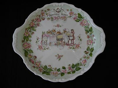RARE! Royal Doulton Brambly Hedge Bread and Butter plate.
