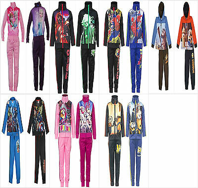 Character Tracksuit Jogging Set Outfit Starwars Minion Frozen Tracksuit 2-10Y