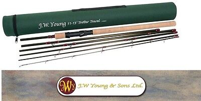 JW Young Trotter Travel 11-13ft Rod  5 Piece NEW MODEL In Cordura Tube RRP £119
