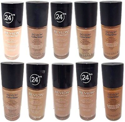 Revlon Colorstay Make Up Foundation NEW Choose Your Shade Combination/Oily Skin