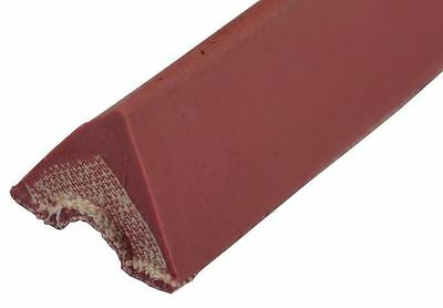 """K66 Rubber Bumpers Replacement Pool Table Rail Cushions Set of 6 - 8 Foot - 42"""""""