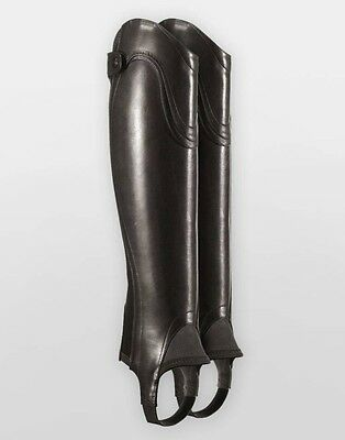 ��NWT ARIAT $248 Volant Black Show Half Chaps Size Small Tall Style 10009520��