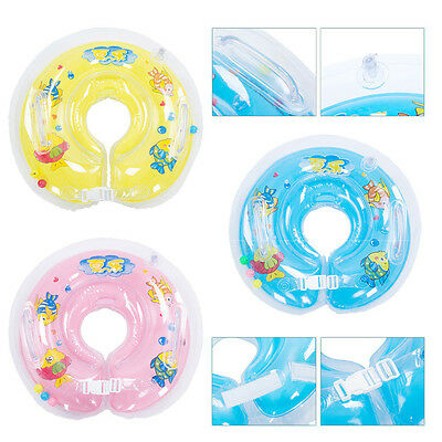 Infant Newborn Kids Baby Swimming Neck Float Ring Bath Pool Safety Water Toys