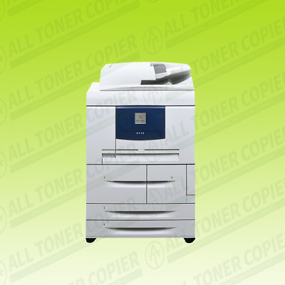 Xerox 4112 Production Copier Printer Scanner Monochrome Laser MFP Network 110PPM