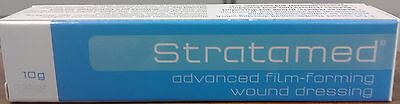=> Stratamed Advanced Film-Forming Wound Dressing Gel 10G Prevents Excess Scar