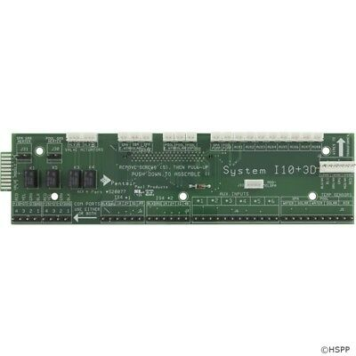 PCB, Pentair, IntelliTouch®, i10-3D