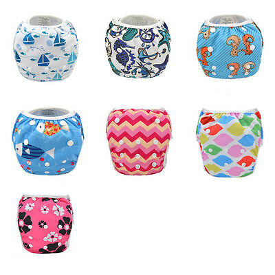 Baby Diaper Washable Cover For Children Baby Nappies Swim Nappy Pants