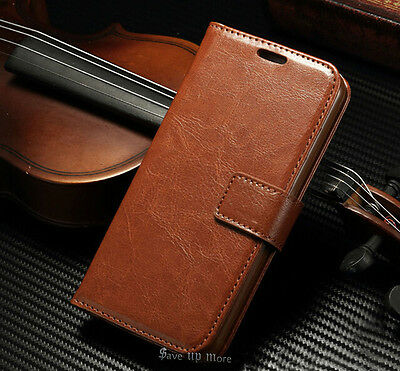 Genuine Flip Leather Wallet Card Magnetic Cover Case For Apple iPhone 7 7 Plus +