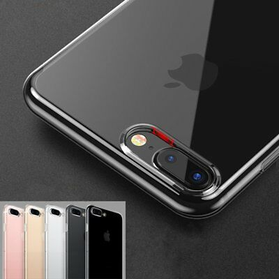 Ultra thin Crystal Clear Case Silicone/TPU/Rubber Soft Cover For iPhone 7 8 Plus