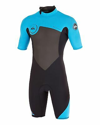 NEW QUIKSILVER™  Mens Syncro 2/2MM Springsuit Wetsuit Surf