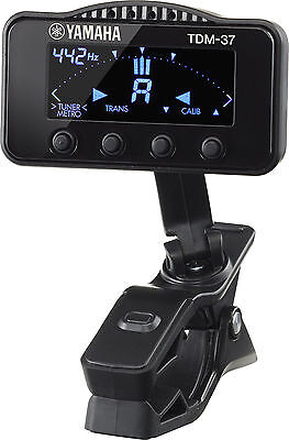 Yamaha TDM-37L Clip On Chromatic Tuner / Metronome for Woodwind  Instruments
