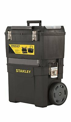 Stanley Mobile Work Center - Toolbox Storage Chest Rolling Trolley Wheels