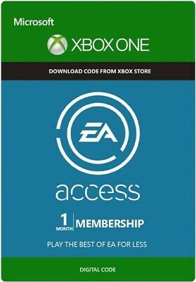 EA Access 1 Month Subscription Key for Xbox One - membership card FAST DISPATCH