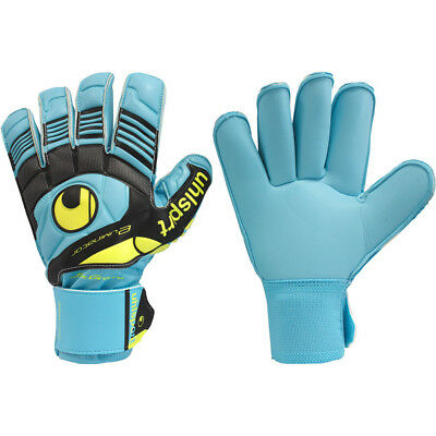 UHLSPORT ELIMINATOR SOFT ROLL FINGER COMP Goalkeeper Gloves Size