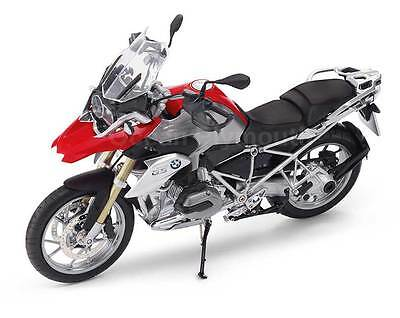 Genuine BMW R 1200 GS Model In Racing Red 1:10