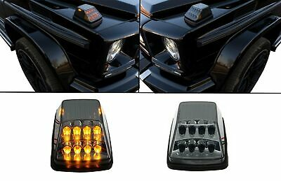 Turning Lights Lamps Indicators LED Mercedes G-Class W463 89+ Smoke/Grey