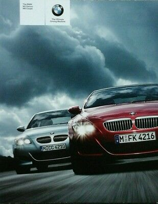 BMW M5 Saloon & M6 Coupe  Sales brochure - February 2005