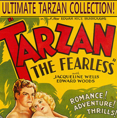☆ Tarzan Ultimate Collection ☆ Comics, Posters, Books, Radio, On Dvd-Rom Disc ☆