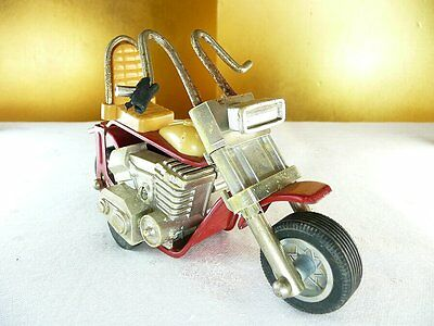Vintage Japan Vehicle Toy Tonka Motorcycle 166