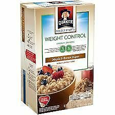 Quaker Instant Oatmeal Weight Control Maple & Brown Sugar 360g (12.6oz)