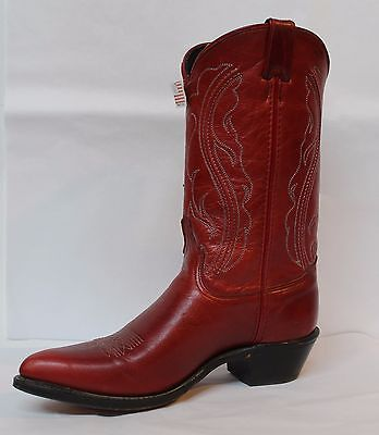 Cowgirl Boots ABILENE Ladies Red Boot, Style #9022 Made in USA!