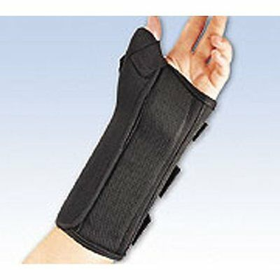 Pro Lite Wrist Splint W/Abd Thumb Left Black Lg